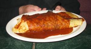 The Mega burrito
