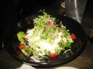 Tofu Poke salad