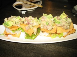 Yellowtail tartare