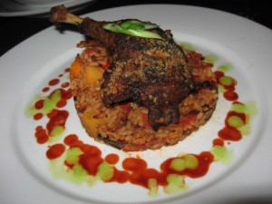 Jambalaya with Duck Confit
