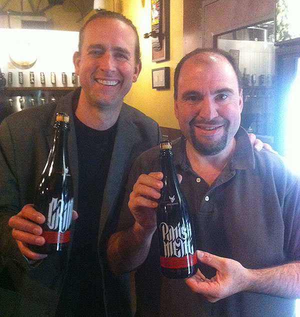 Brett with Greg Koch, CEO of Stone Brewing Company