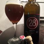 19-Mar-2015 : 28 Brett (2013) by Caulier - A Bretty pale ale. Sour bitterness. A slight sweetness. #ottbeerdiary
