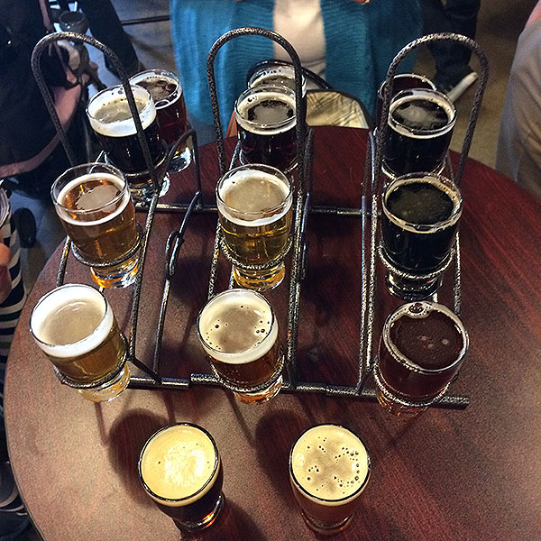 Beer Sampler at AleSmith in San Diego