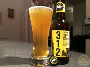18-Mar-2015 : 312 Urban Wheat Ale from Goose Island Beer Co. One of the new craft beer offerings popping up on grocery shelves across the Netherlands this week. An ok wheat beer, but hard to compare to some of the great German offerings it shares shelf space with. #ottbeerdiary