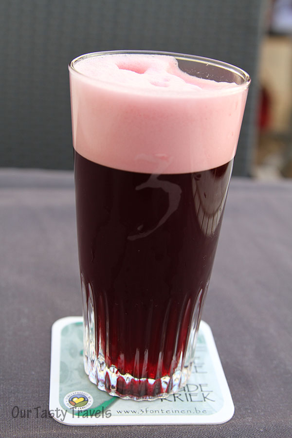 3 Fonteinen Oude Kriek - Amazing color!  http://ourtastytravels.com/blog/3-fonteinen-brewery-open-beer-days-in-belgium/ #beer #belgium #ourtastytravels