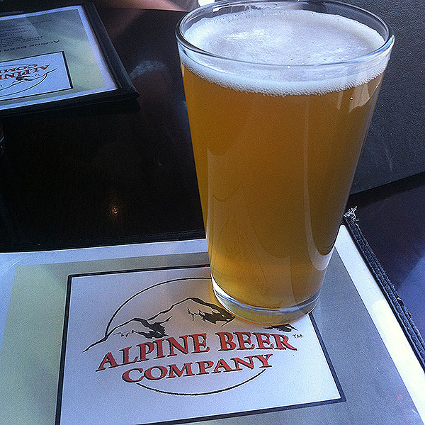 Nelson IPA at Alpine Beer Company