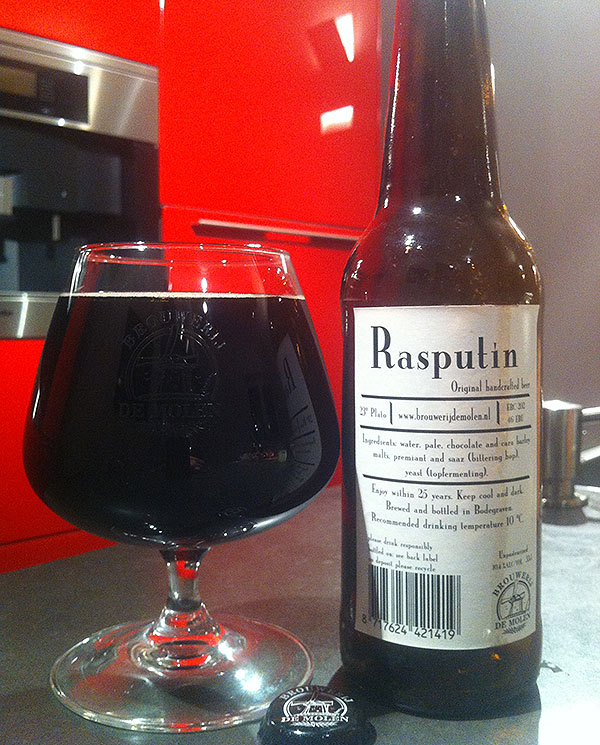 Brouwerij De Molen Rasputin (Disputin)