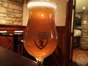6-Mar-2015 : Abbatia Avena Xx by Free Will Brewing Co. - Local collaboration beer for the Iron Abbey in Horsham, PA. A well-balanced DIPA brewed with oats. Grapefruit and bitter. A nice mix. #ottbeerdiary