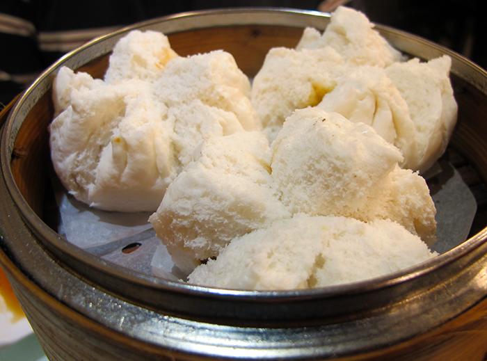 BBQ Pork Buns (Cha Siu Bao)  http://ourtastytravels.com/blog/dimdimsum-dim-sum-hong-kong/ #dimsum #hongkong #ourtastytravels