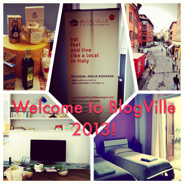 Welcome to BlogVille 2013 in Emilia Romagna, Italy!