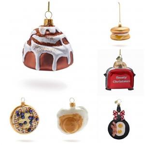 Breakfast Food Ornaments