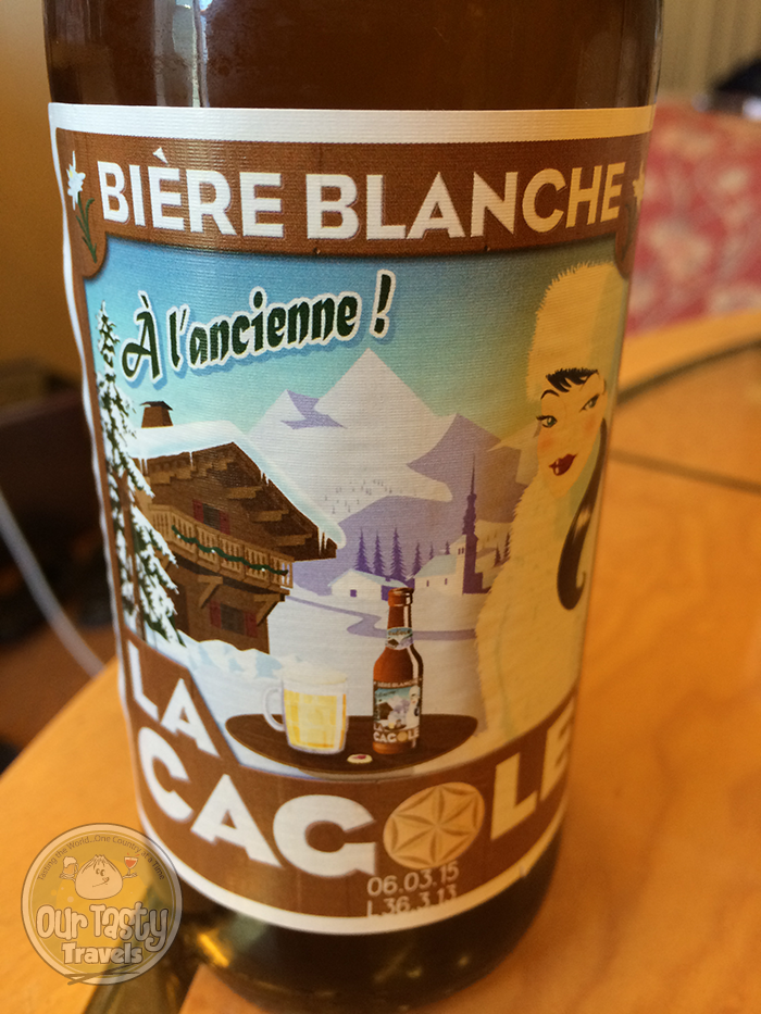 La Cagole Biere Blanche http://ourtastytravels.com/blog/la-cagole-beer-marseille/ #beer #ottmed14 #ourtastytravels