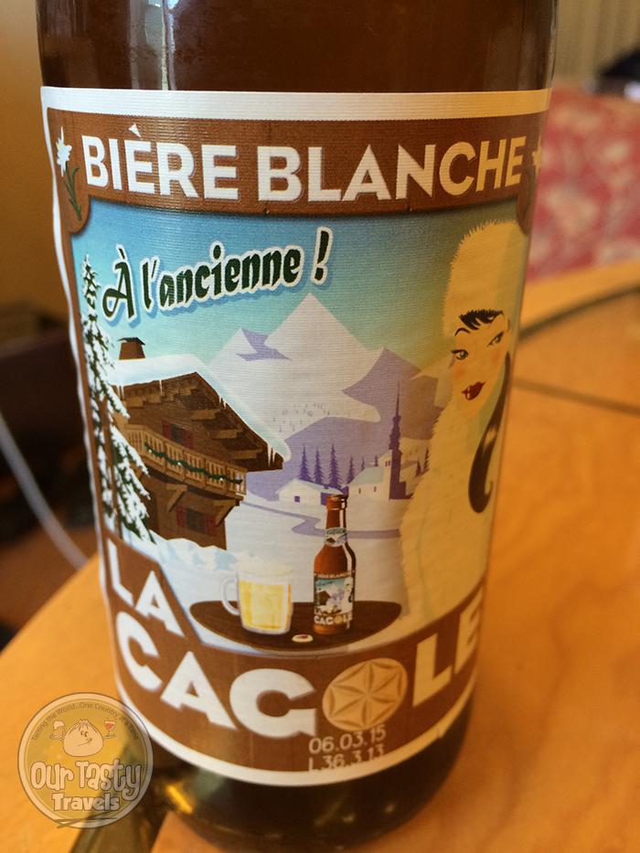 La Cagole Biere Blanche http://ourtastytravels.com/blog/la-cagole-beer-marseille/ #beer #ottmed14 #ourtastytravels
