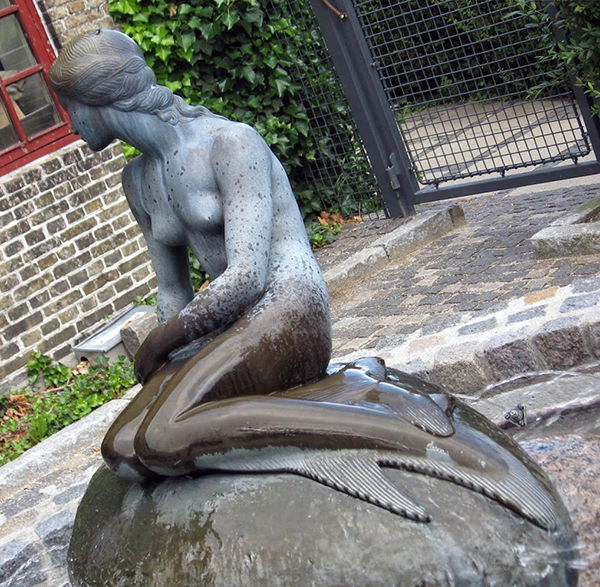 Little Mermaid Statue at Visit Carlsberg