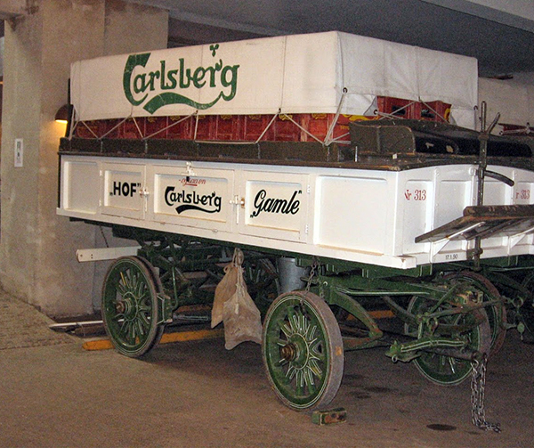 Carlsberg Beer Wagon at Carlsberg Brewery