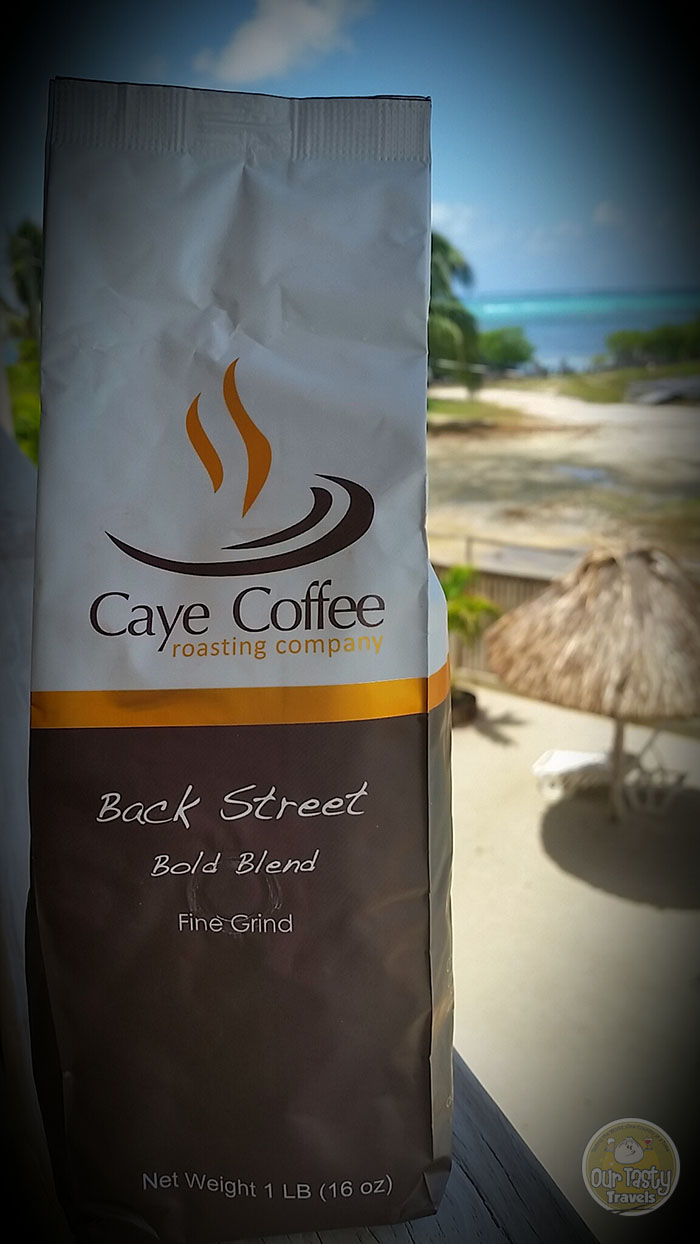 Caye Coffee Roasting Co. in San Pedro, Belize http://ourtastytravels.com/blog/belize-casa-picasso-caye-coffee/ #coffee #belize #ourtastytravels #cayetobelize