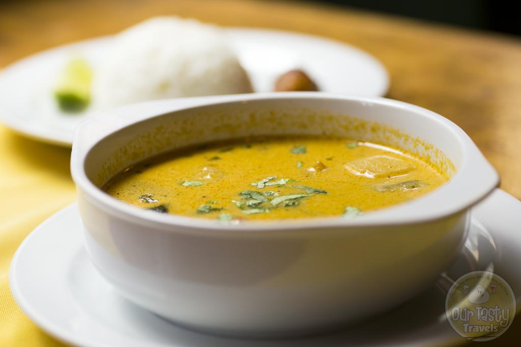 Conch Soup at Elvi's Kitchen, San Pedro, Belize -- Ourtastytravels.com