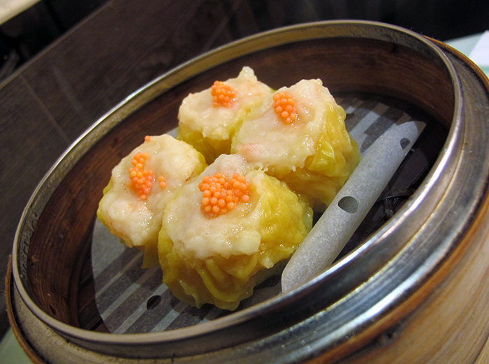 Pork Dumplings with Crab Roe (Siu Mai)