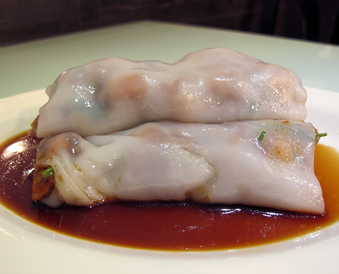 Rice Flour Rolls with BBQ Pork