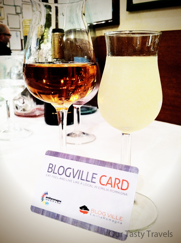 BlogVille membership has its privileges (while we didn't snag any discounts on food and wine, we did feel special flashing our card ha!_