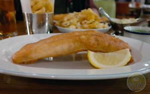 Traditional Fish and Chips in London