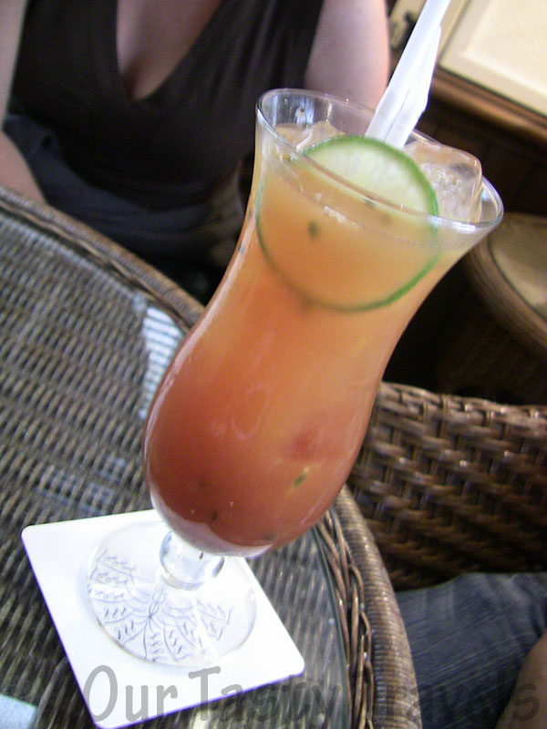 Tropical Sling, Long Bar, Raffles Hotel, Singapore