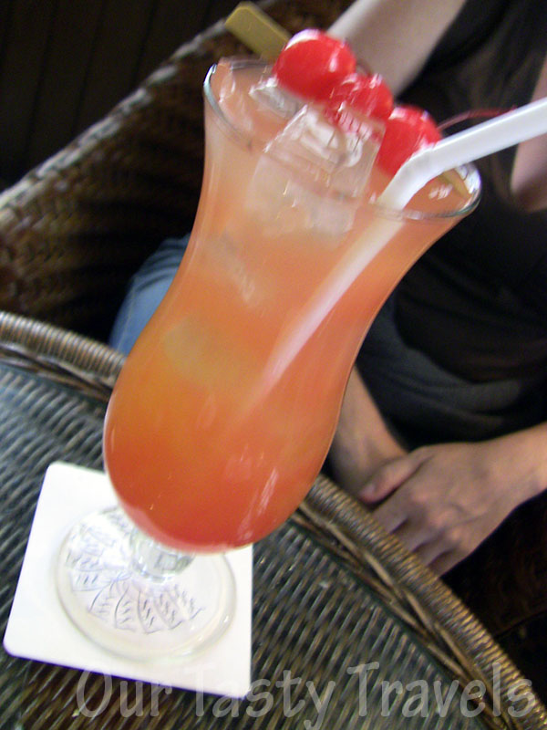 Courtyard Sling, Long Bar, Raffles Hotel, Singapore