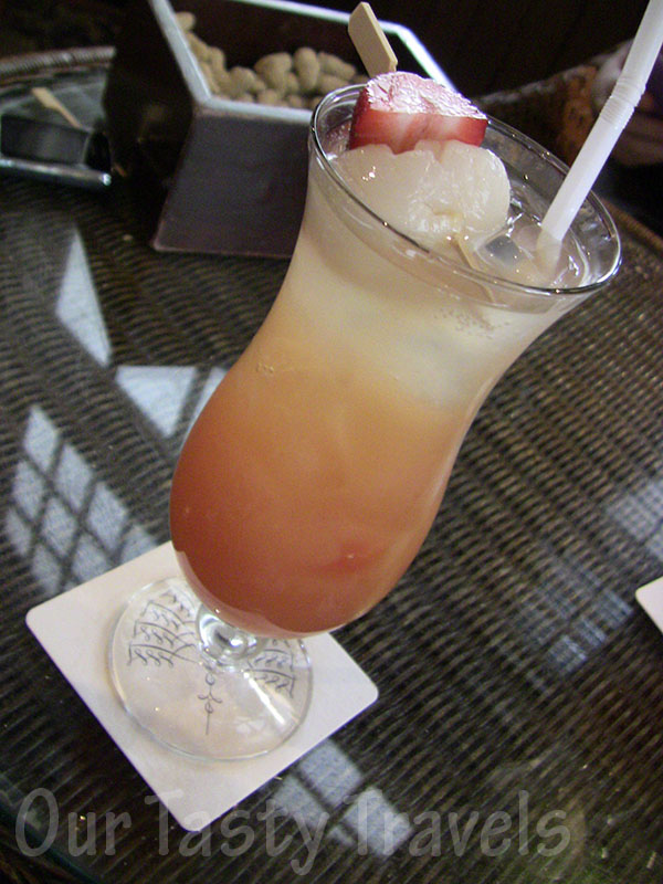 Summer Sling, Long Bar, Raffles Hotel, Singapore