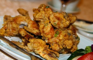 Deep fried frog legs from Yangtze River Restaurant