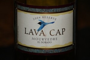 New World Wines: Reserve Mourvedre from Lava Cap