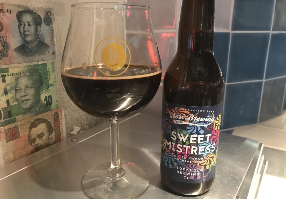 Sweet Mistress by Sori Brewing #OTTBeerDiary Day 877