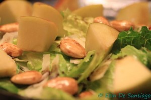 Photo of the Week: Apple and Honeyed Marcona Almond Salad