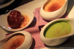 Trio of Creme Brulee from Architektur