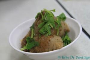 Jongzi dumpling