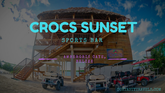 New Bars In Belize Crocs Sunset Sports Bar Soft Opening