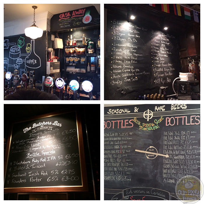 Impressive Beer Lists in the Irish Craft Beer Bars http://ourtastytravels.com/blog/irish-craft-beer/ #beer #ebbc14 #ourtastytravels