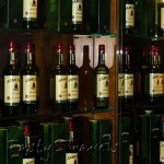 Jameson bottles on the wall