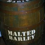 Malted barley barrels