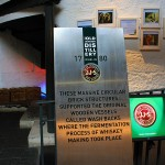 Sign explaining structures inside Jameson Distillery
