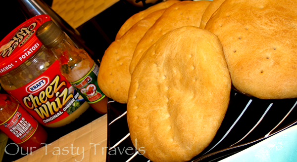 First attempt at making Johnny Cakes at home came out pretty flat http://ourtastytravels.com/recipes/belizean-cuisine-breakfast-johnny-cakes-belize/ #belize #ourtastytravels #cayetobelize