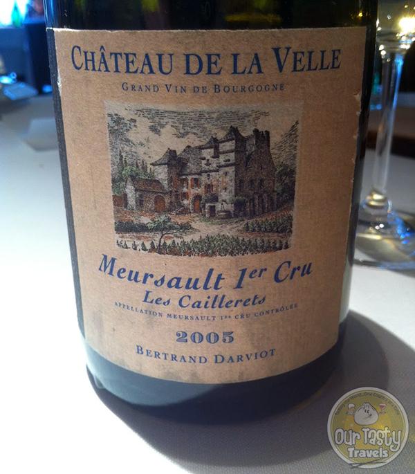 Chateau de la Velle Meursault 1er Cru 2005
