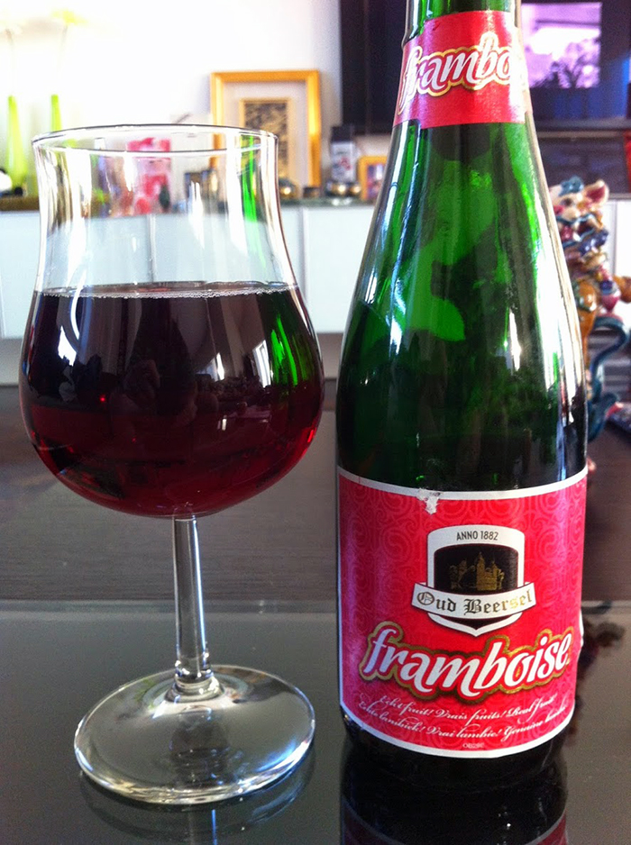 Oud Beersel Framboise http://ourtastytravels.com/blog/oud-beersel-brewery-beersel-belgium/ #beer #travel #ourtastytravels