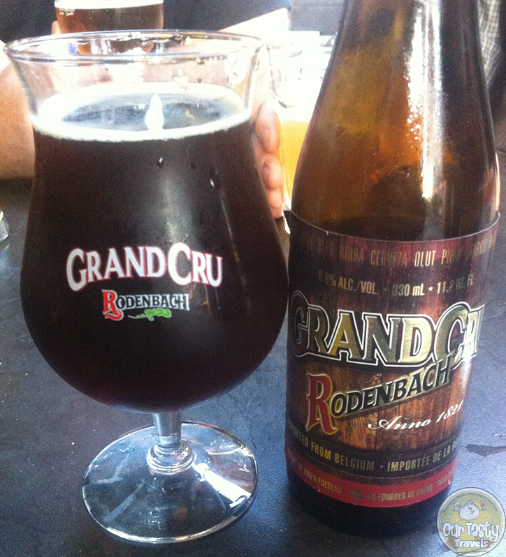 Rodenbach Grand Cru - My first love of Belgian Sour Beers http://ourtastytravels.com/blog/belgian-sour-beers/ #beer #ourtastytravels