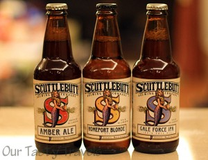 Scuttlebutt Brewing Company beers found in Taipei, Taiwan
