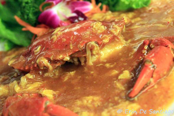 Singapore Chili Crab from restaurant in Taipei, Taiwan