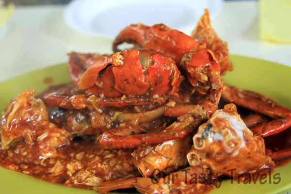 Singapore Chili Crab http://ourtastytravels.com/blog/southeast-asian ...
