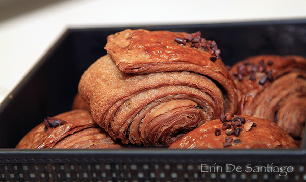 Yannick's Signature Chocolate Croissant http://ourtastytravels.com/blog/sweet-tea-yannick-alleno-taipei-101/ #ourtastytravels #taipei
