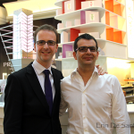 Yohann, previous sommelier at S.T.A.Y. and Benoit, Sommelier at Robuchon
