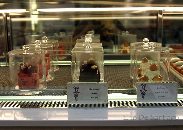 Many pastries at Sweet Tea come in fancy jewel-like boxes http://ourtastytravels.com/blog/sweet-tea-yannick-alleno-taipei-101/ #ourtastytravels #taipei