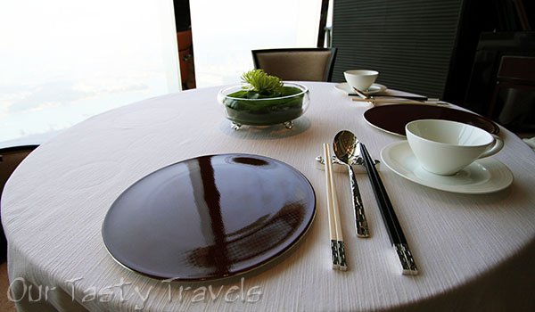 Table Setting Tin Lung Heen